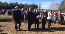 Uroczystości upamiętniające ofiary tragedii smoleńskiej w Grzybowie