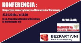 Bezpartyjni samorządowcy na Mazowszu i w Warszawie [KONFERENCJA]