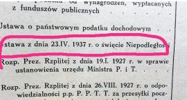 Ustawa o Święcie Niepodległości. Dziś mija 81 lat...