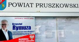 """Znana """"marka"""" w  Pruszkowie. Kandydat Mazowieckiej Wspólnoty Samorządowej Krzysztof Rymuza."""