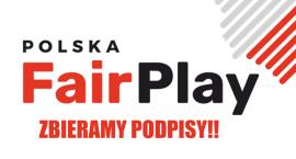 Ruszyliśmy ze zbiórką podpisów poparcia KWW Polska Fair Play