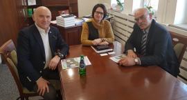 MWS z wizytą u Burmistrz Łomianek Małgorzaty Żebrowskiej-Piotrak