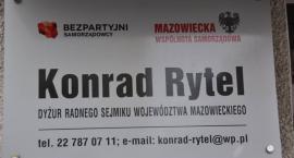 Konrad Rytel zainaugurował dyżury w Wołominie
