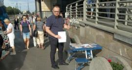 Zbiórka podpisów dla BiS - tym razem na Dworcu Wileńskim