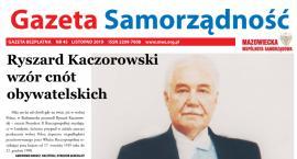 Listopadowy (45) numer gazety Samorządność [ONLINE]