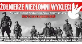 Żołnierze Niezłomni Wyklęci zaproszenie na obchody w Iłowie