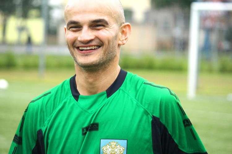 USUNIĘTE Sport stare, Marcin Biela spartanin legitymacji - zdjęcie, fotografia