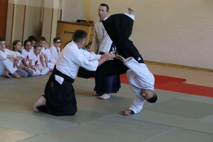 Karate Aikido - sztuki walki, Egzamin Polskiej Federacji Aikido Złotowie - zdjęcie, fotografia