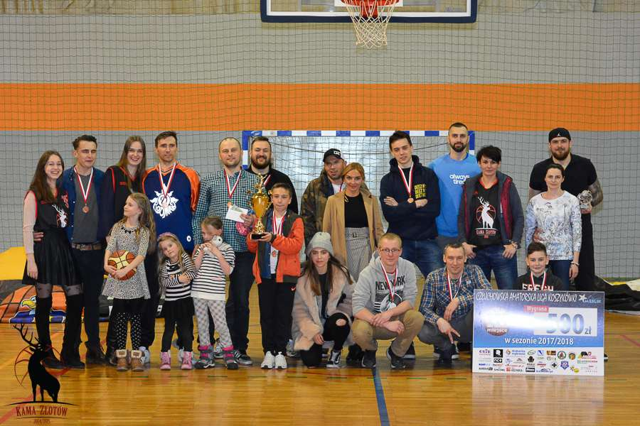 Koszykówka, podium - zdjęcie, fotografia