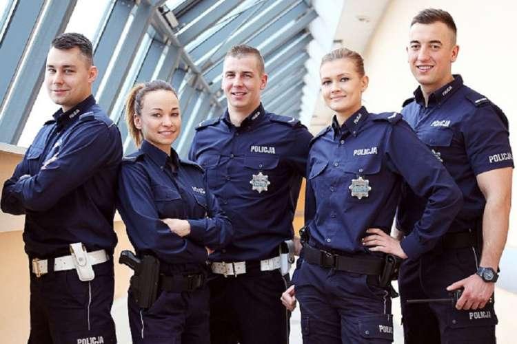 Informacje, Zostań jednym praca policji - zdjęcie, fotografia