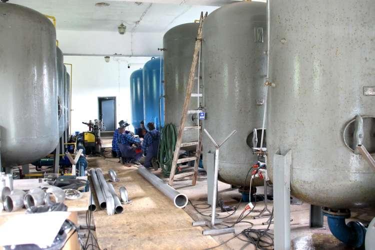 USUNIĘTE Informacje, Zaczynają budowę wodociągu - zdjęcie, fotografia
