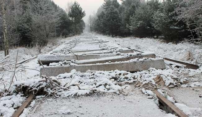 USUNIĘTE Informacje, Pociągi tędy pojadą Kolej zwija - zdjęcie, fotografia