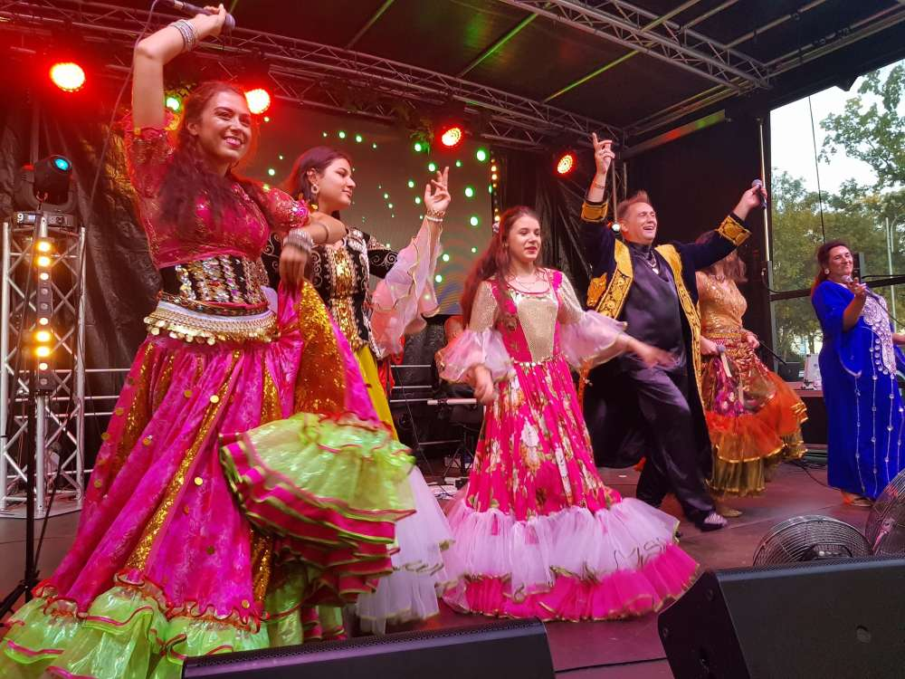 Koncerty muzyka, Koncert muzyki cygańskiej Złotowie - zdjęcie, fotografia