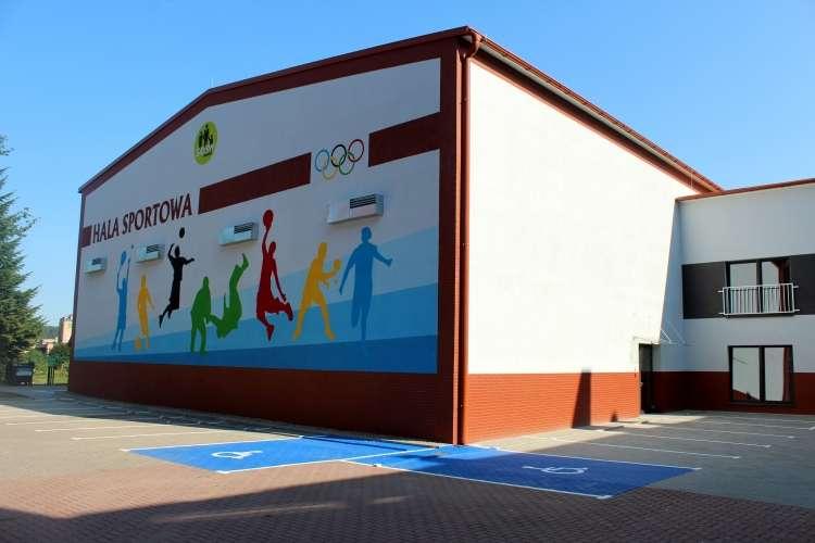 Administracja, Olimpijczycy nową halą - zdjęcie, fotografia