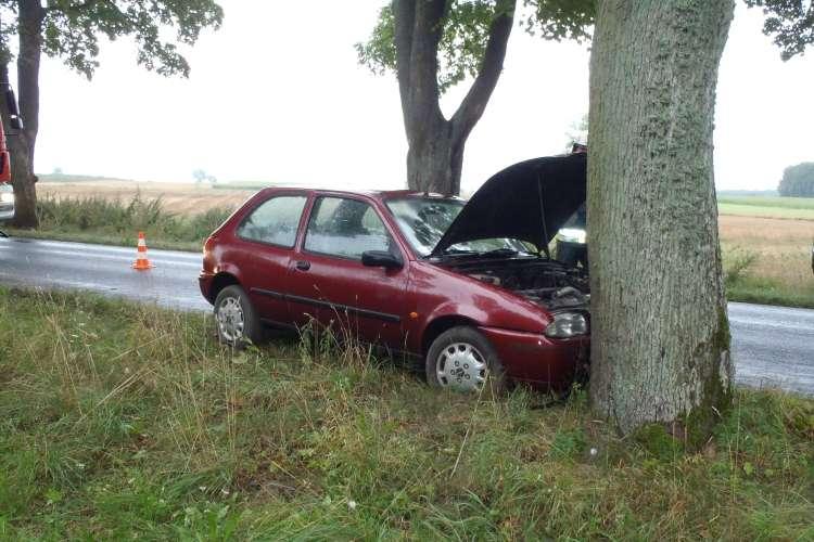 Wypadki drogowe, Wymusił doprowadził kolizji zbiegł miejsca zdarzenia - zdjęcie, fotografia