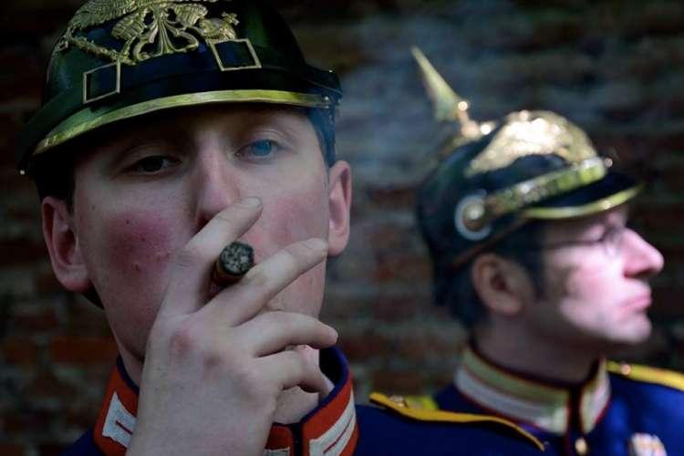 Spotkania i festyny, Koniec Wielkiej Wojny zapraszamy Jastrowia Piknik Historyczny - zdjęcie, fotografia