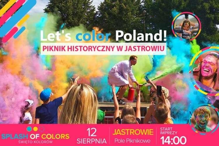 Spotkania i festyny, Święto kolorów Jastrowiu - zdjęcie, fotografia