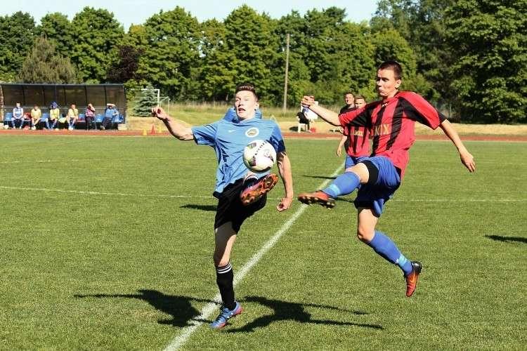 Piłka nożna, Międzyokręgowa - zdjęcie, fotografia