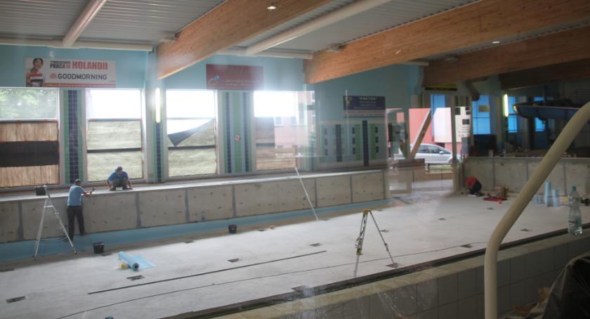 Inwestycje w powiecie, Pływalnia będzie otwarta prawdopodobnie października - zdjęcie, fotografia
