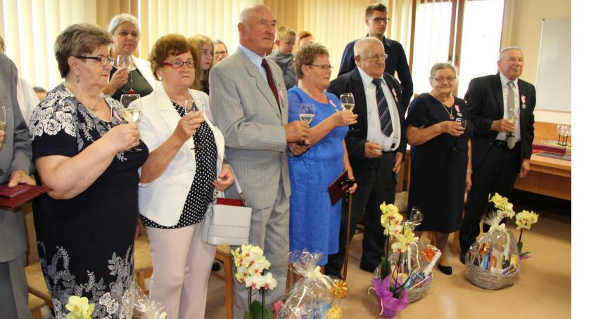 Uroczystości obchody, Złote Zakrzewie - zdjęcie, fotografia