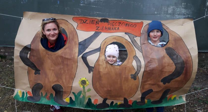 Edukacja, Dzień Pieczonego Ziemniaka Przedszkolem Złotowie - zdjęcie, fotografia