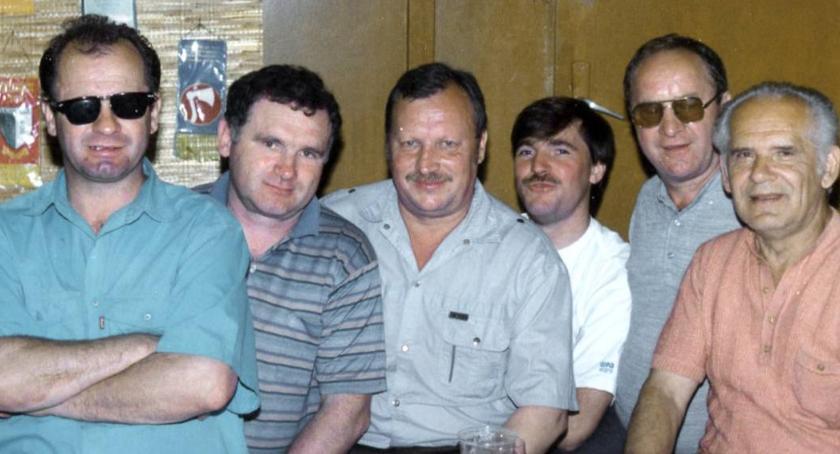 Zygmunt Martenka- drugi od lewej. Wspominający go są jednomyślni co do tego, że świetnie współpracował z ludźmi