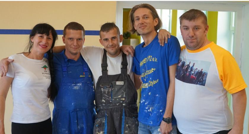 Inwestycje w powiecie, Remont Providentem Warsztacie Terapii Zajęciowej Złotowie - zdjęcie, fotografia
