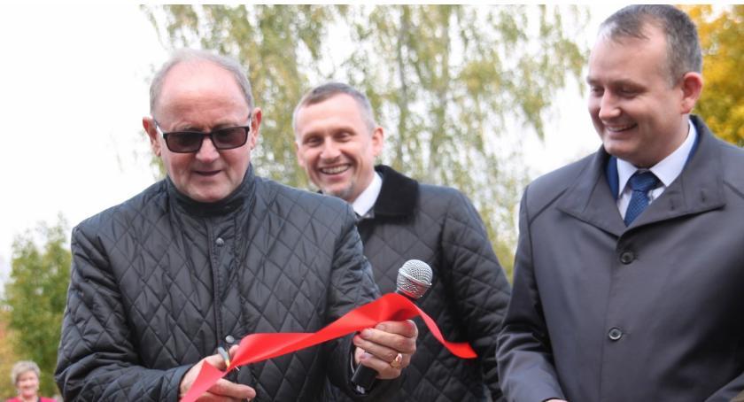 Inwestycje w powiecie, Złotowska strzelnica oficjalnie otwarta kapitalnym remoncie - zdjęcie, fotografia