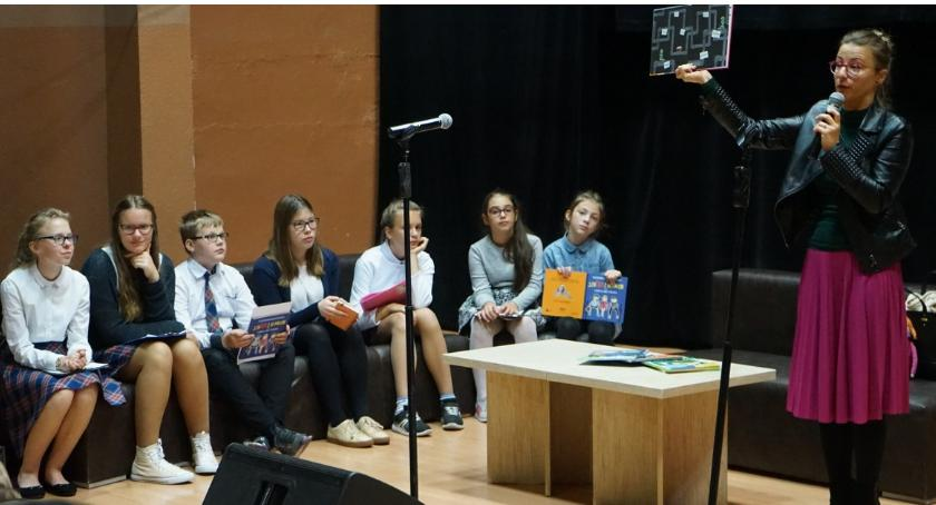 Edukacja, Eliza Piotrowska wizytą Złotowie - zdjęcie, fotografia