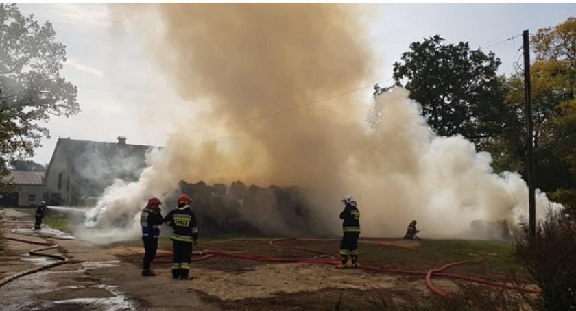 Straż pożarna, Pożar Wąsoszu - zdjęcie, fotografia