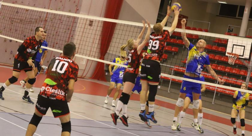 Siatkówka, Złotowska Piłki Siatkowej start - zdjęcie, fotografia
