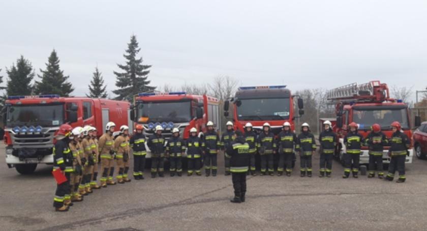 Straż pożarna, Pluton ratowniczy akcji - zdjęcie, fotografia