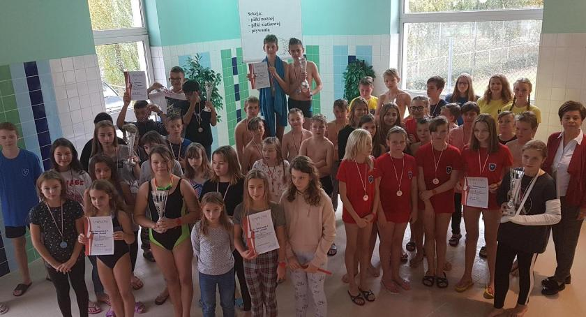 Pływanie, Powiatowe Drużynowe Mistrzostwa Pływaniu - zdjęcie, fotografia