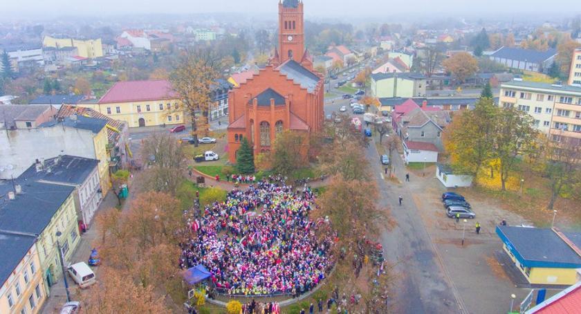 Uroczystości obchody, Jastrowie biło rekord - zdjęcie, fotografia