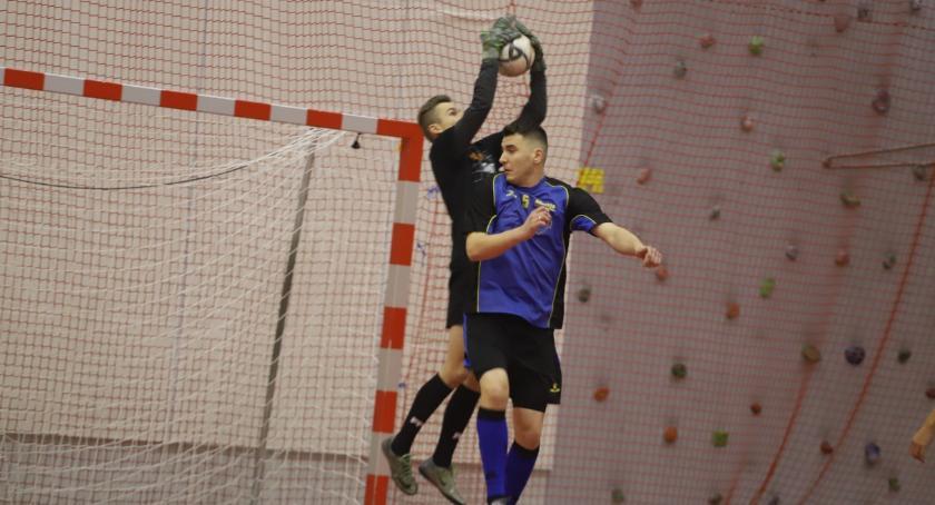 Piłka nożna, kolejka Złotowskiej Futsalu - zdjęcie, fotografia