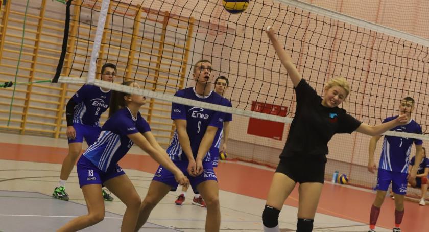 Siatkówka, Złotowska Piłki Siatkowej kolejka - zdjęcie, fotografia