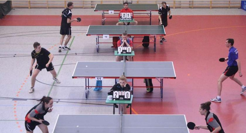 Tenis stołowy, Zapraszamy święto tenisa stołowego Złotowie - zdjęcie, fotografia