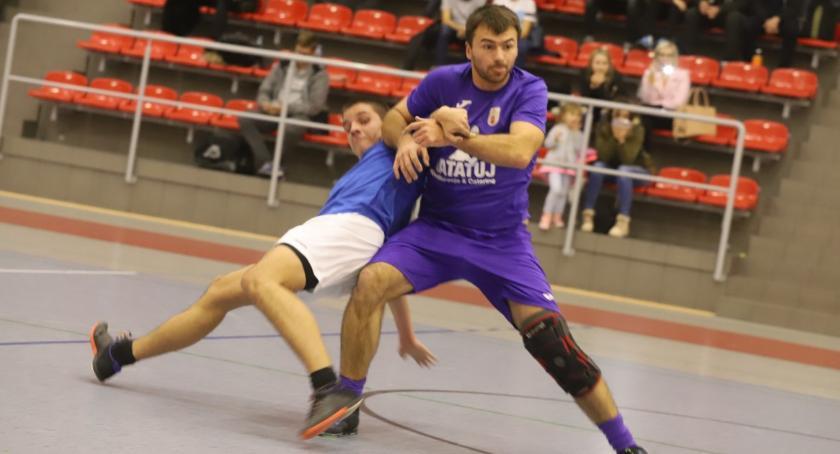 Piłka nożna, Złotowska Futsalu kolejka grupy - zdjęcie, fotografia