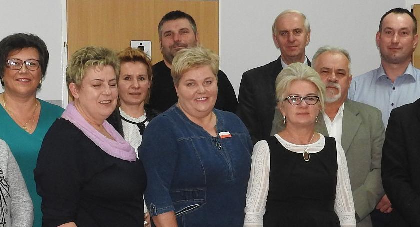 W spotkaniu wzięło udział czternastu z dwudziestu ośmiu sołtysów z gminy Złotów