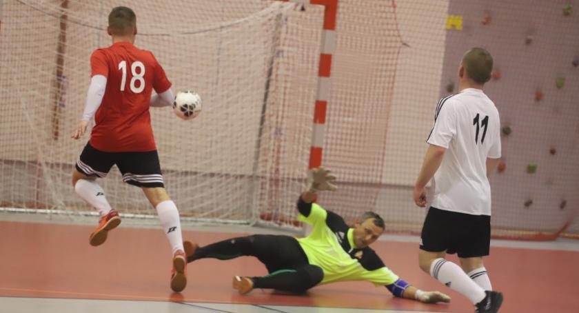 Piłka nożna, Złotowska Futsalu kolejka grupy kolejka grupy - zdjęcie, fotografia