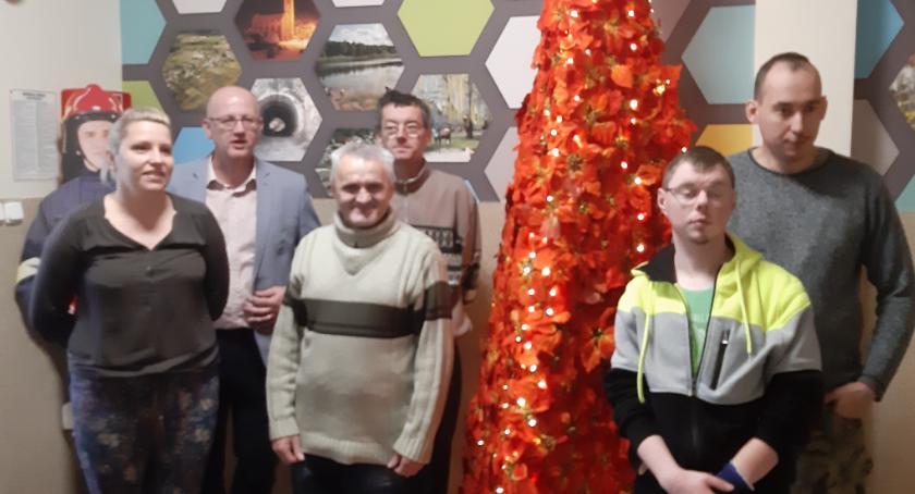 Uroczystości obchody, choinka Jastrowiu - zdjęcie, fotografia
