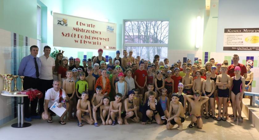 Pływanie, Mikołajkowe Zawody Pływackie - zdjęcie, fotografia