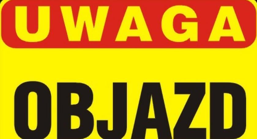 Inwestycje w powiecie, Tymczasowe utrudnienia ruchu Gminie Zakrzewo - zdjęcie, fotografia