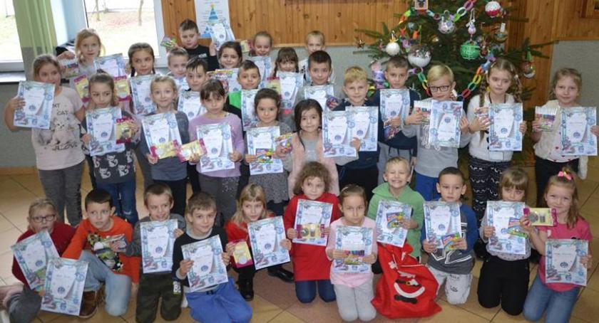 Edukacja, Konkurs świąteczne ozdoby Jedynce - zdjęcie, fotografia