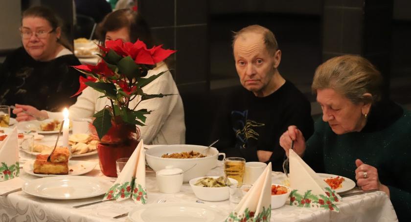 Rekreacja wypoczynek, Spotkanie opłatkowe złotowskim - zdjęcie, fotografia