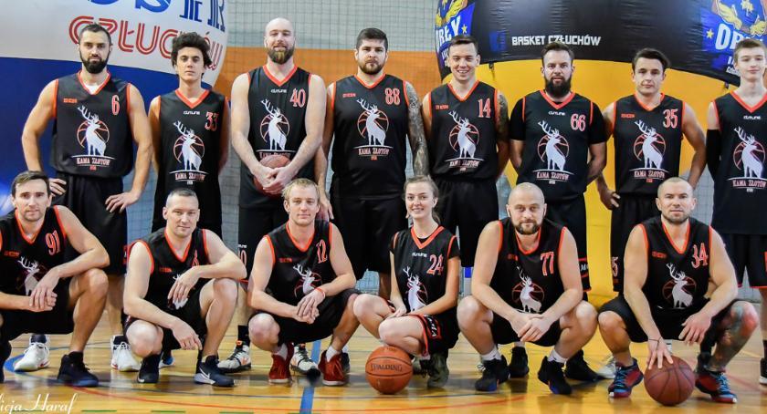 Koszykówka, Cenna wygrana Złotów królewskiej wadze - zdjęcie, fotografia