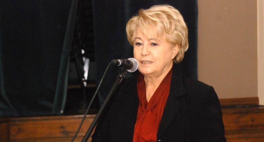 Mirosława Rutkowska–Krupka mówiła, że przebudowa DW 190 nie wypadła z planów finansowych województwa