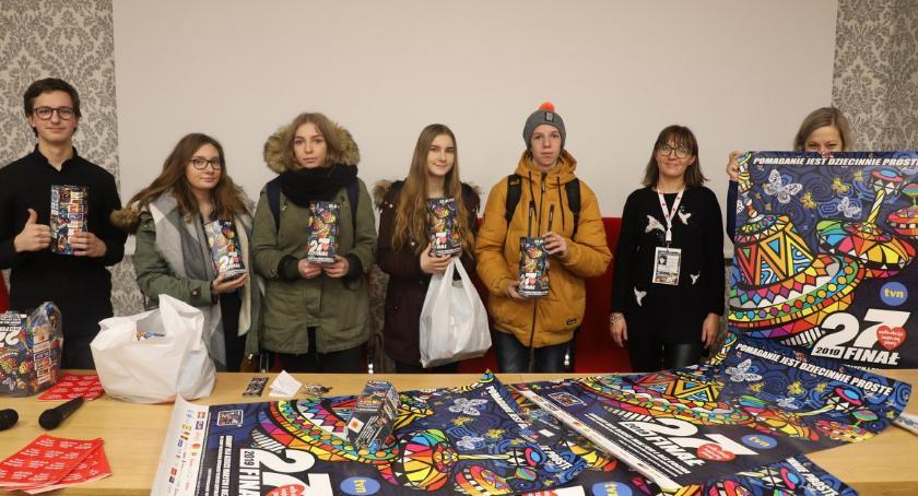 Charytatywnie, Spotkanie złotowskiego sztabu WOŚP - zdjęcie, fotografia
