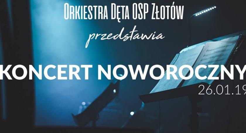 Koncerty muzyka, Koncert Noworoczny Orkiestry Dętej Złotowie - zdjęcie, fotografia