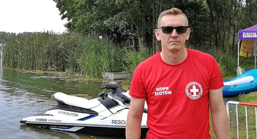 Ze względu na nową pracę Paweł Michalski będzie musiał odejść z zarządu złotowskiego WOPR. Nie rezygnuje jednak ze służby w ratownictwie wodnym